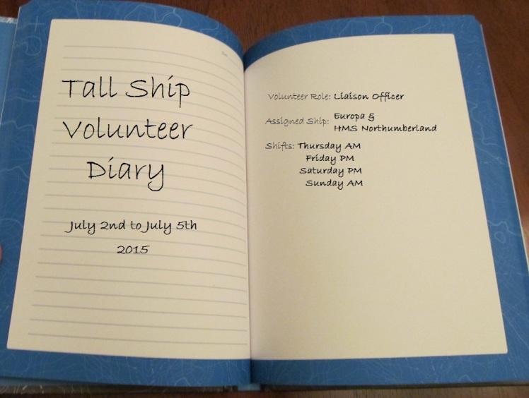 Tall Ship Diary