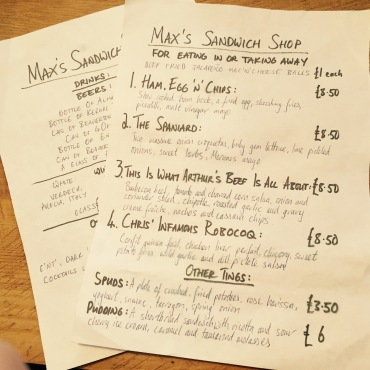 maxs menu