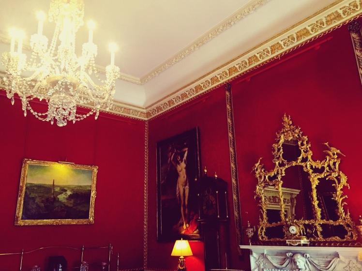 Hillsbrough red room